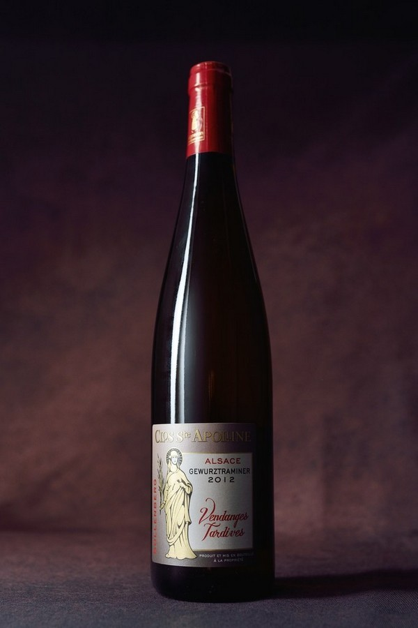 alsace gewurztraminer vendanges tardives 2012 750ml domaine du bollenberg. Black Bedroom Furniture Sets. Home Design Ideas